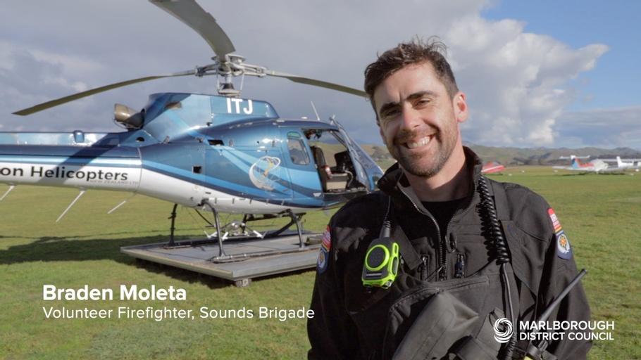 Aerial Observations Over Marlborough Sounds - Andrew Strugnell