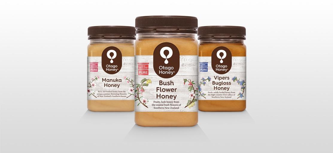 Otago Honey Products - Graphic Design - Michael Tanner
