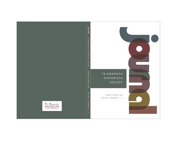 Book design for Te Awamutu Museum - Emily Bayley