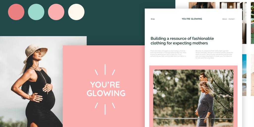 You're Glowing - Branding Design - Francine Jones