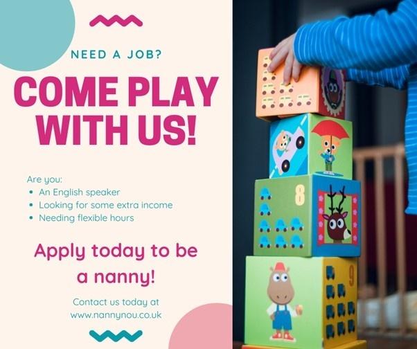 Spec Project - Instagram Ads for Nanny Company - Johanna Ryan