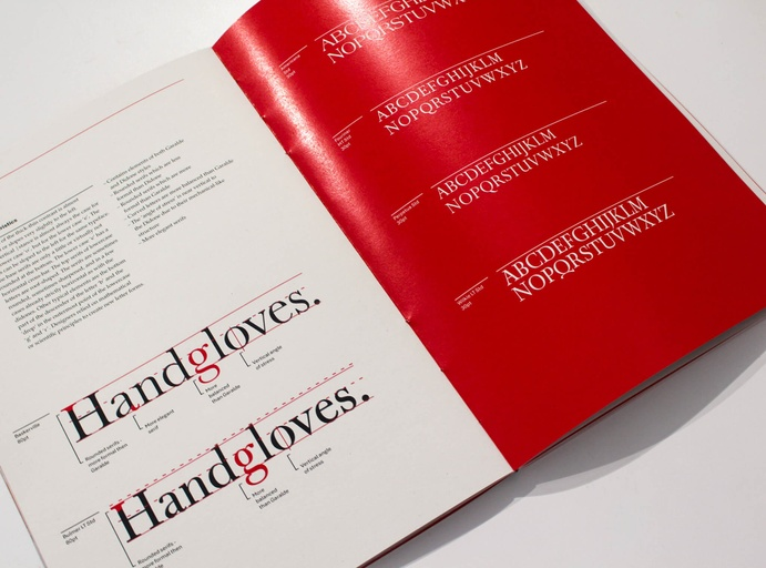Typology Editorial and Book Design - Mette Harker