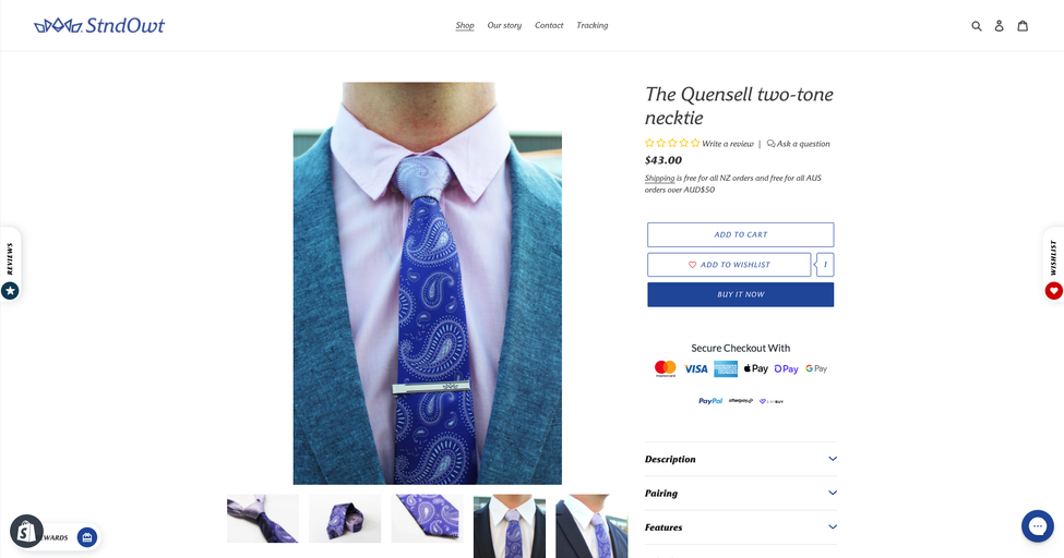 Ecommerce store for Facebook marketplace business - Guy Harley