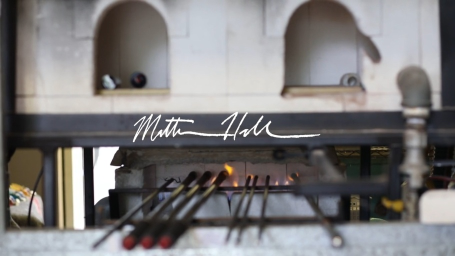 Video for Matt Hall Glassblower for online and social content - Loic Yearbury