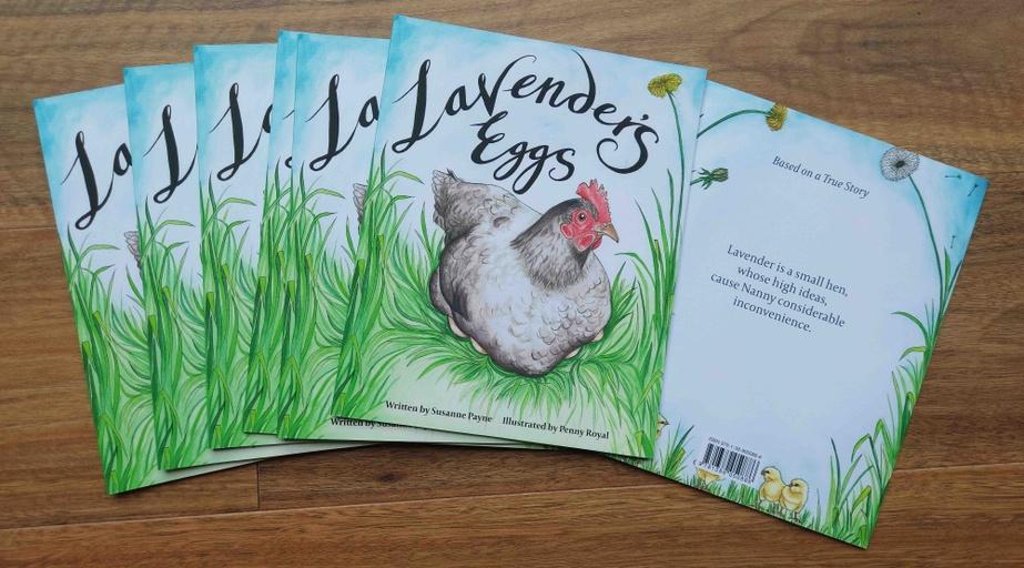 Lavender's Eggs Children's Book - Penny Royal