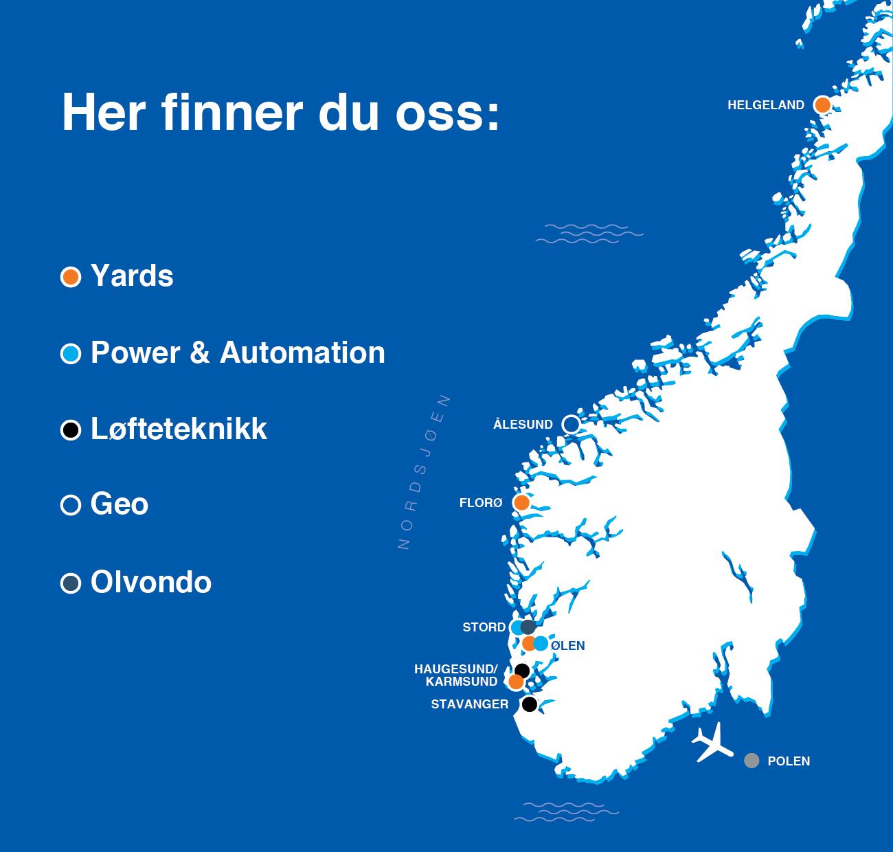 Illustrasjon av kart