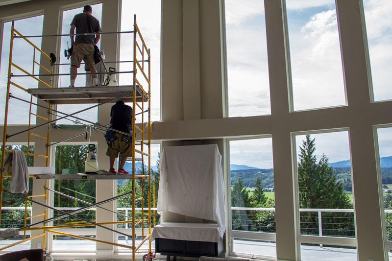 residential window film installation