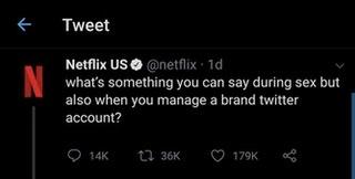 Netflix sur Twitter, saison 1, 2 et 3.