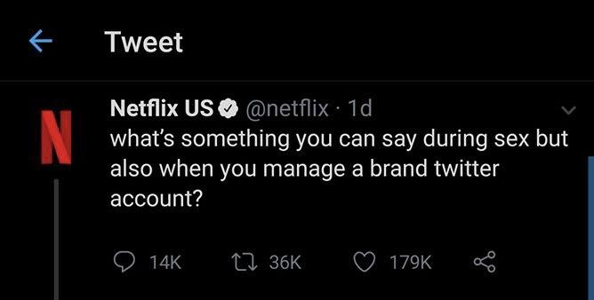 (Netflix sur Twitter, saison 1, 2 et 3.)