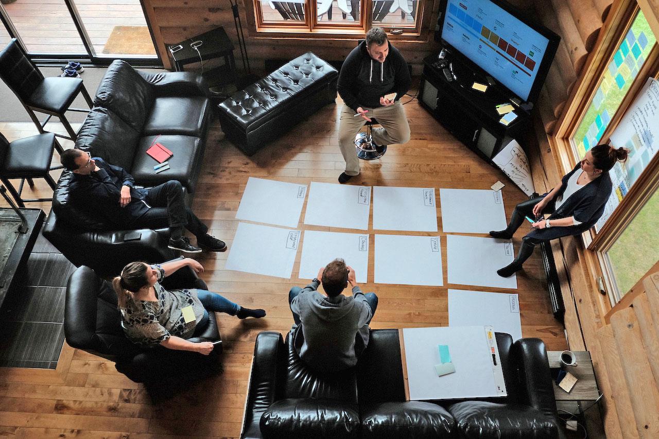 Atelier stratégique Juste Pour Rire — photo Xavier Legault