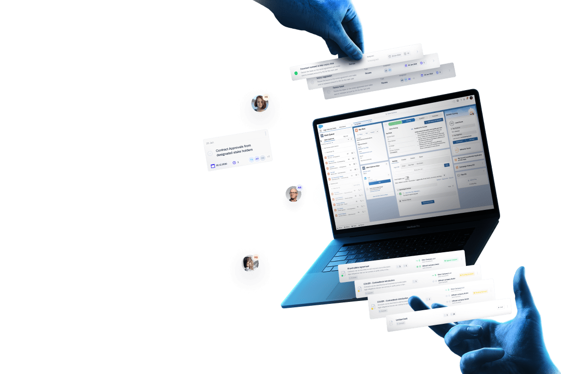 Work smarter with automated Salesforce contracts