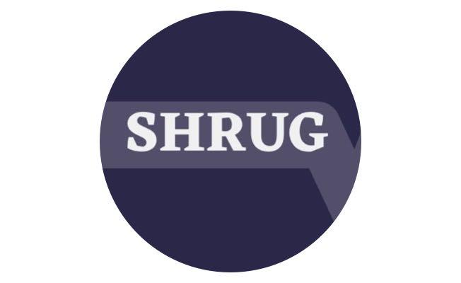 Shrug - Zestful investor