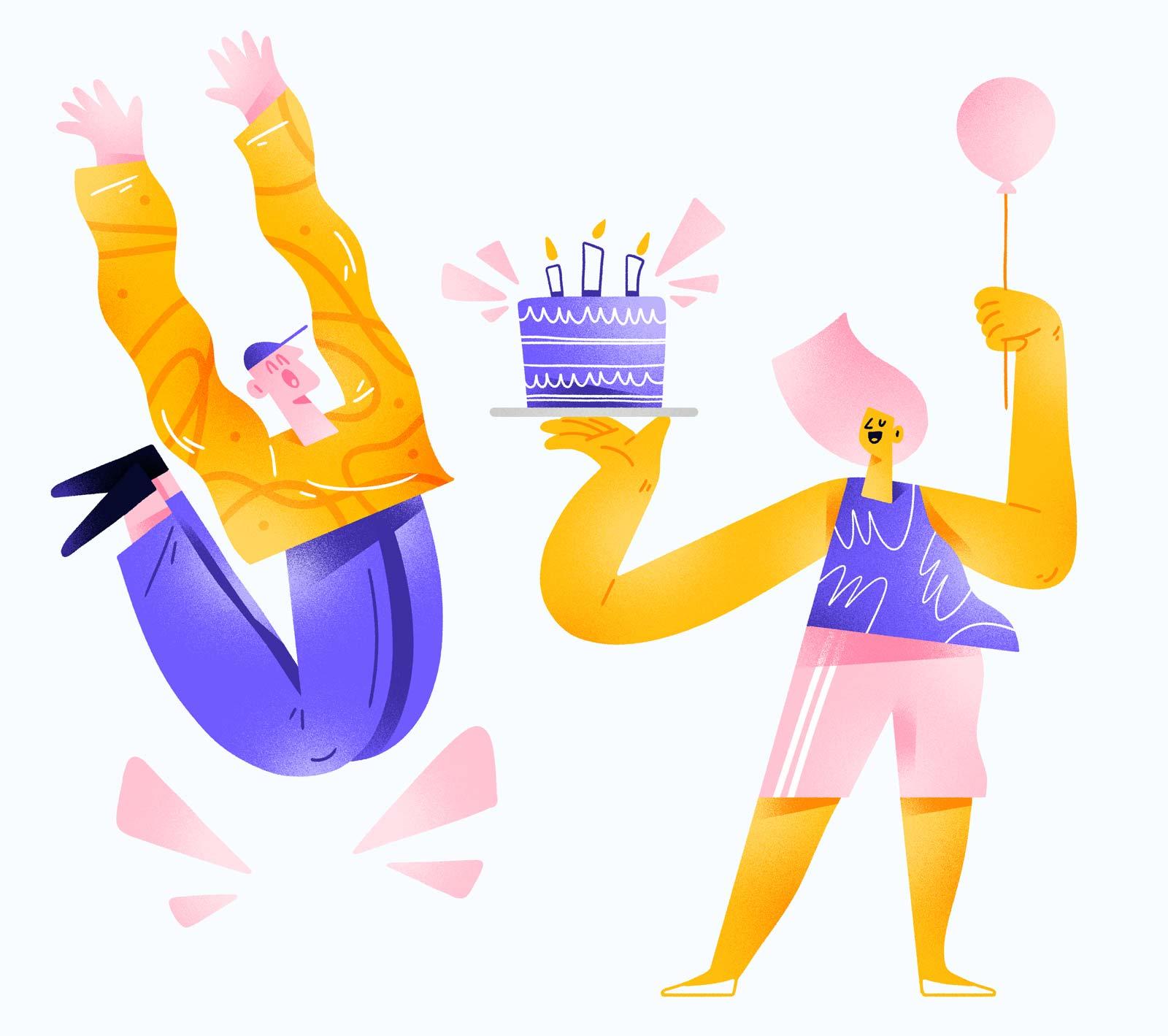 Zestful Perks - Birthdays and Anniversaries