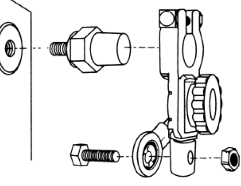 diagram depicting proper battery disconnect switch assembly