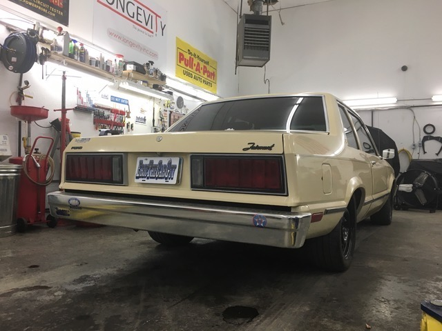 rear view of eric the car guys turbo fairmont