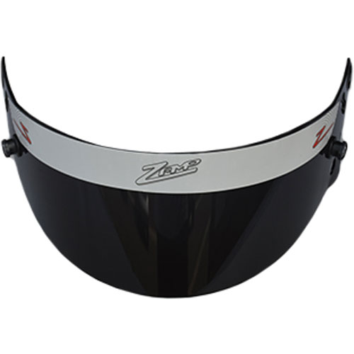 tinted shield for a racing helmet