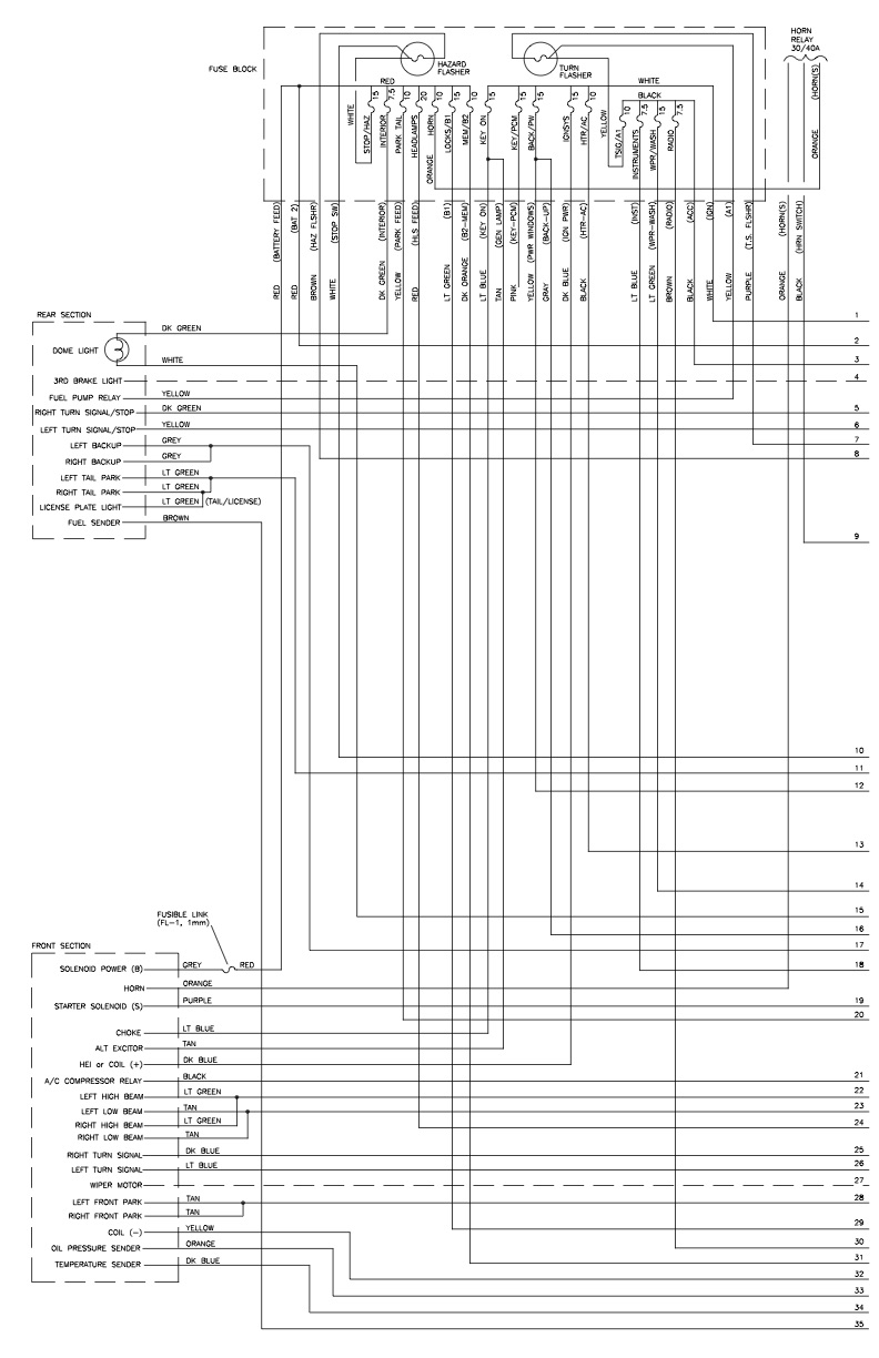 10400  Installation Instructions For Universal Wiring Harness