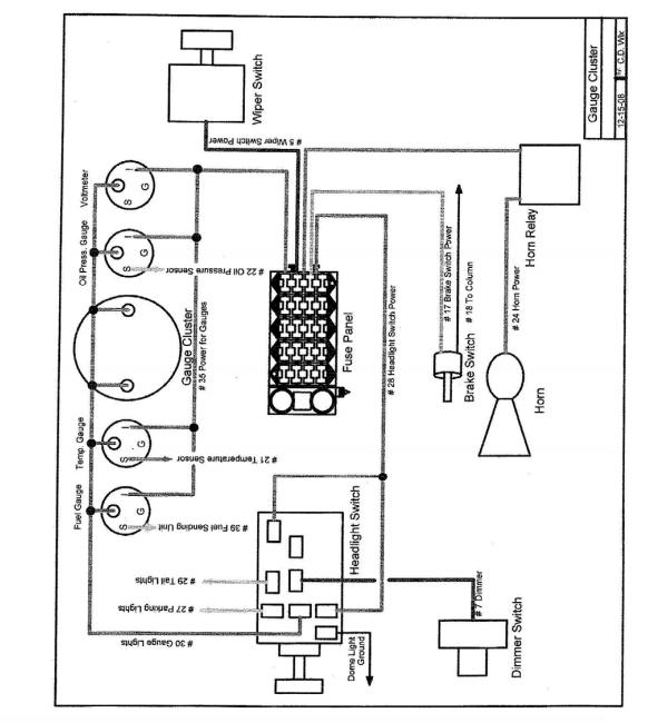 10405 Installation Instructions For Universal 20 Circuit Wiring Harness