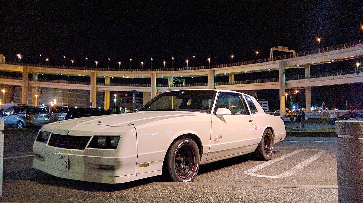 white 1987 chevy monte carlo ss aerocoupe