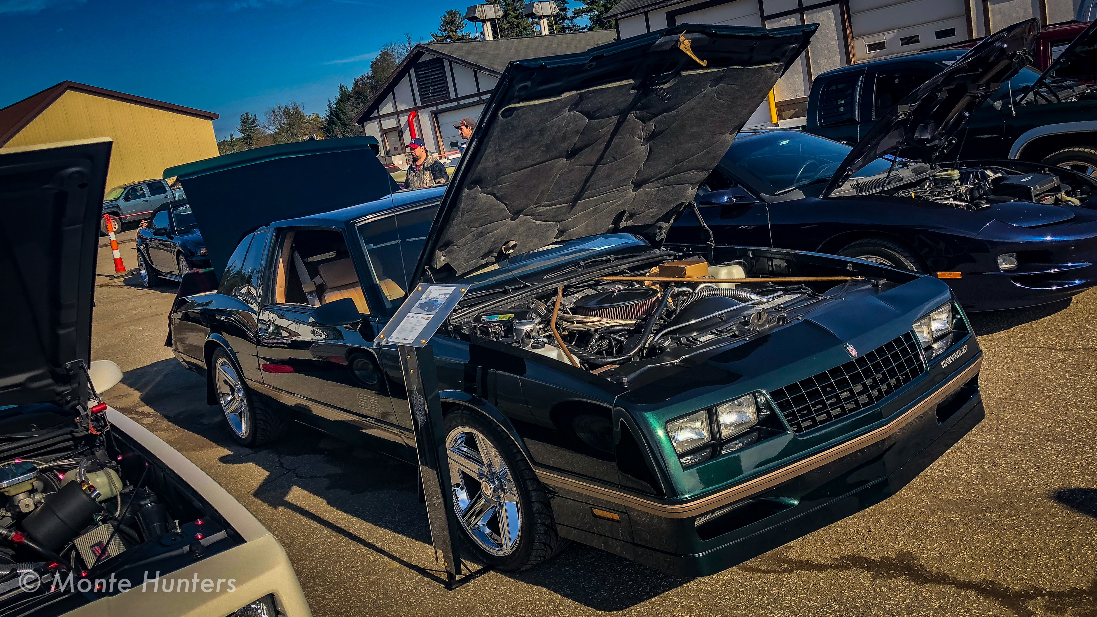 under the hood of tim's 988 chevy monte carlo ss