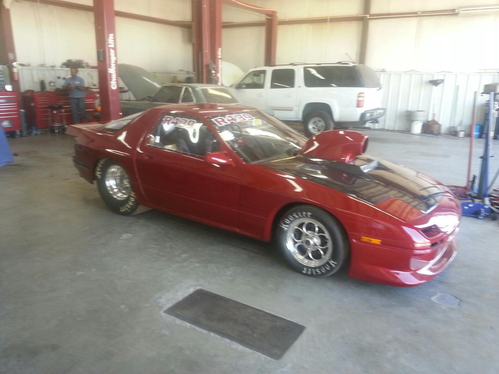 red 1997 mazda rx7