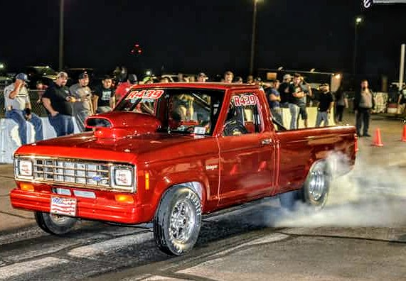 red 1991 ford ranger