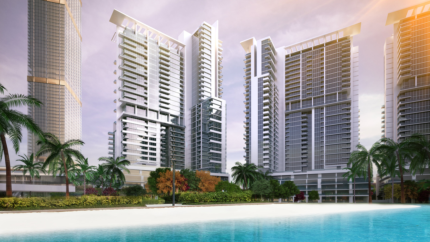 Residential Towers by Quezada Architecture (Fred Quezada, Cecilia Quezada, Ed Tingley)