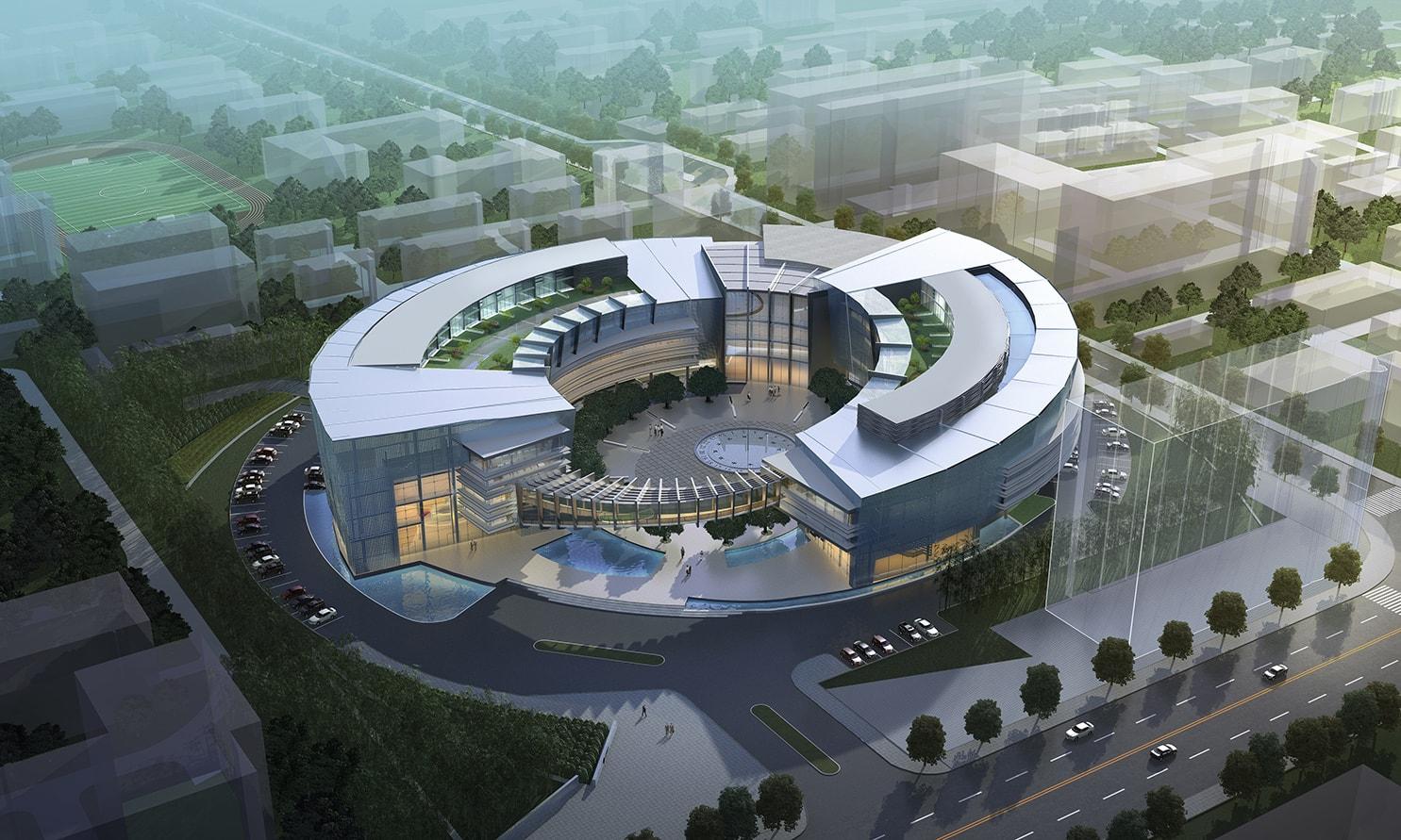 Shanghai Electric by Quezada Architecture (Fred Quezada, Cecilia Quezada, Ed Tingley)