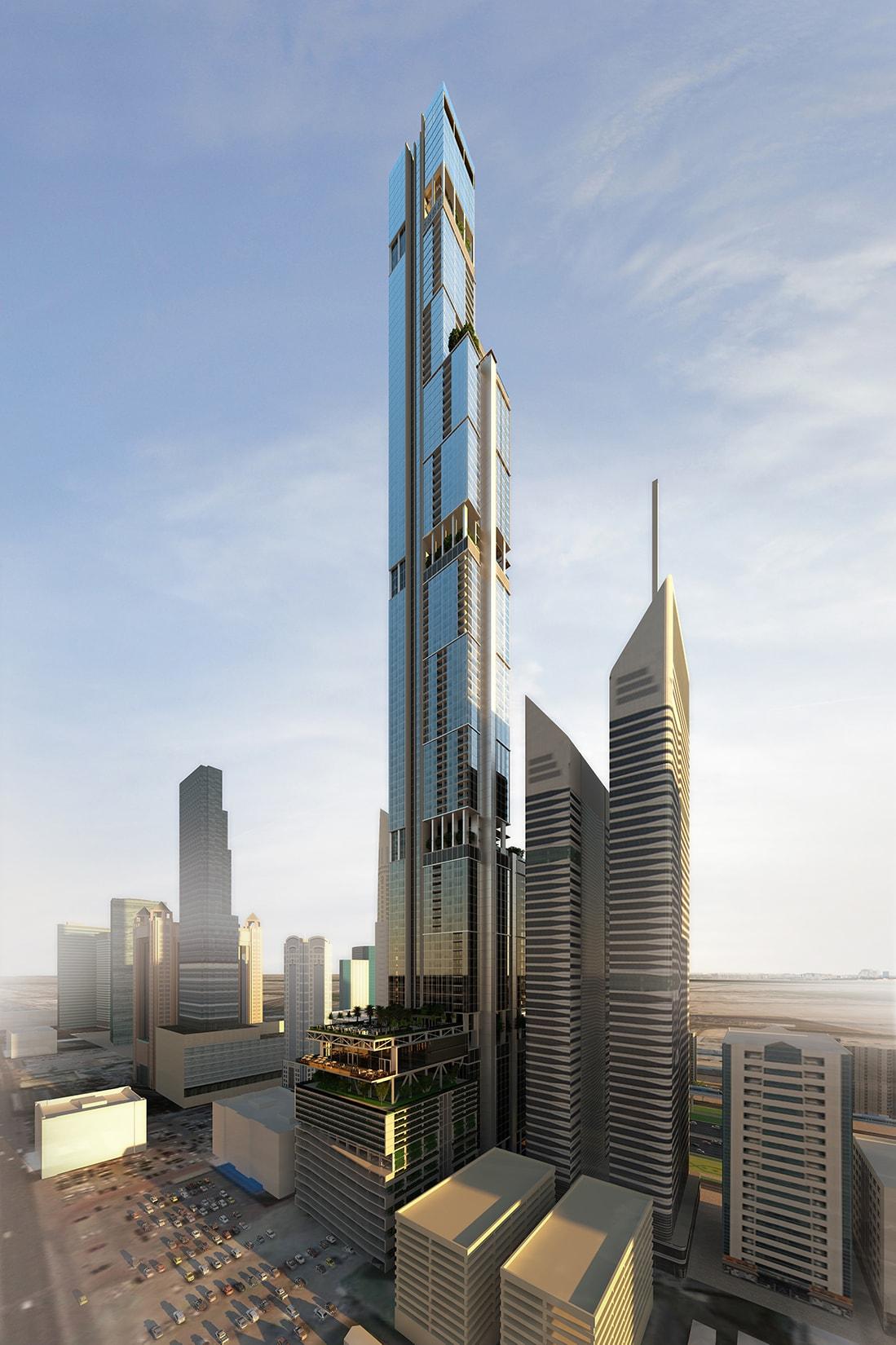 Entisar Tower by Quezada Architecture (Fred Quezada, Cecilia Quezada, Ed Tingley)