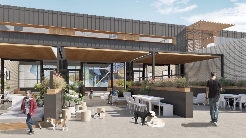 Happy Dog Project by Quezada Architecture (Fred Quezada, Cecilia Quezada, Ed Tingley)