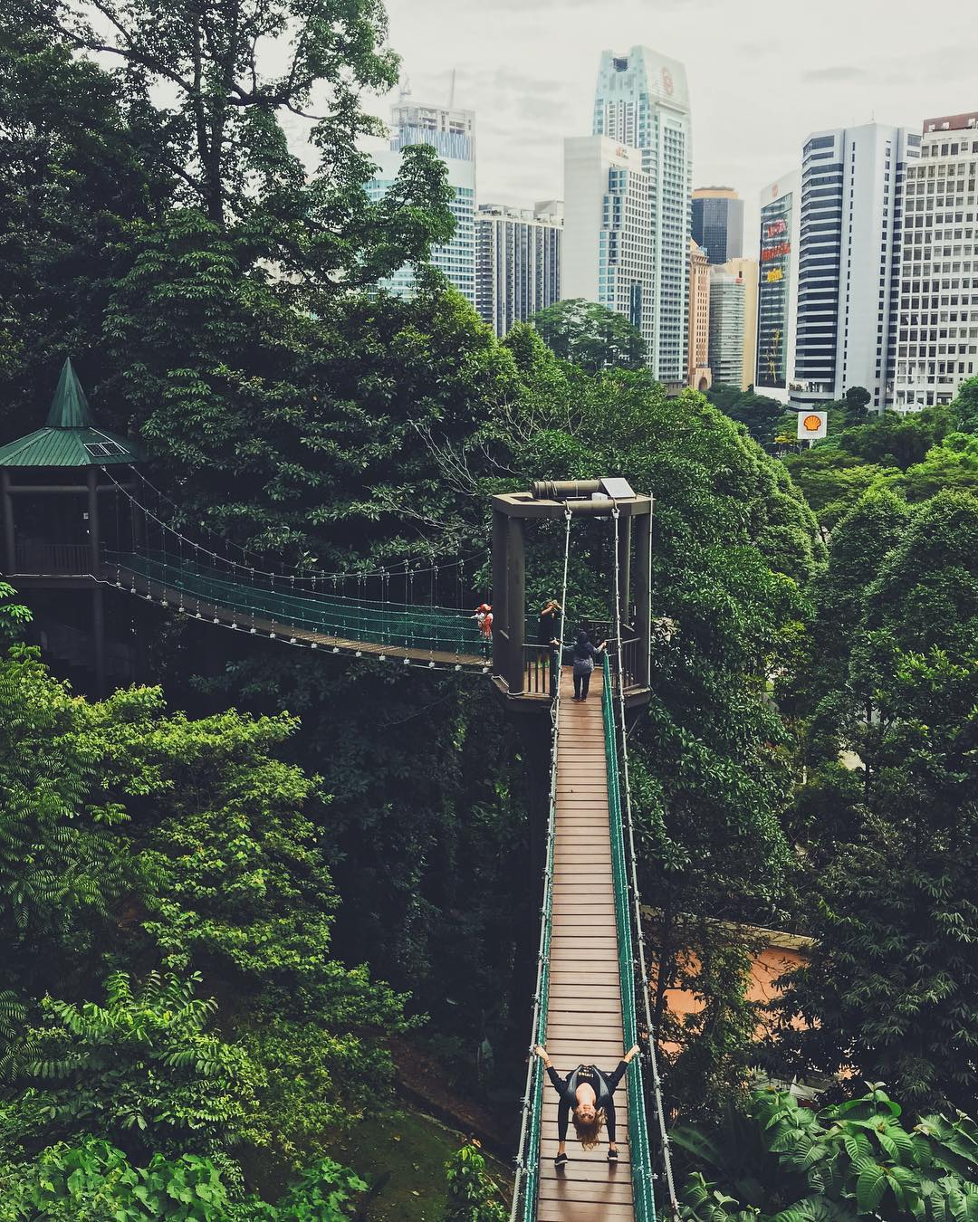 Ariela gets a new perspective on Kuala Lumpur