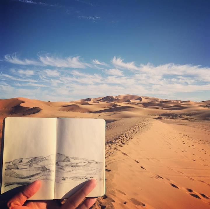 Sahara Desert by Minho Kim on Remote Year