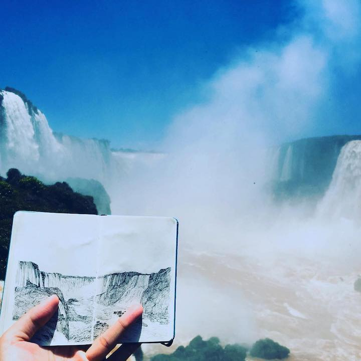 Iguazu Falls by Minho Kim on Remote Year