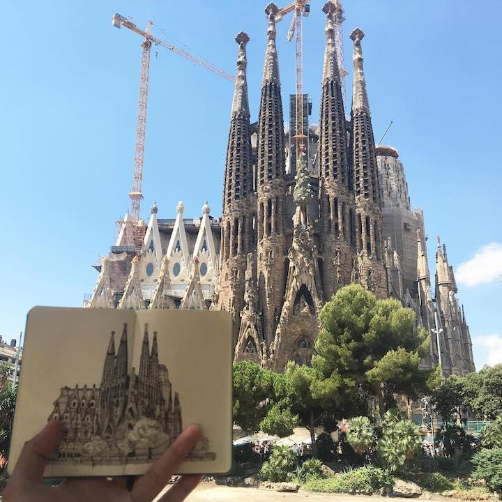 Sagrada Familia by Minho Kim on Remote Year