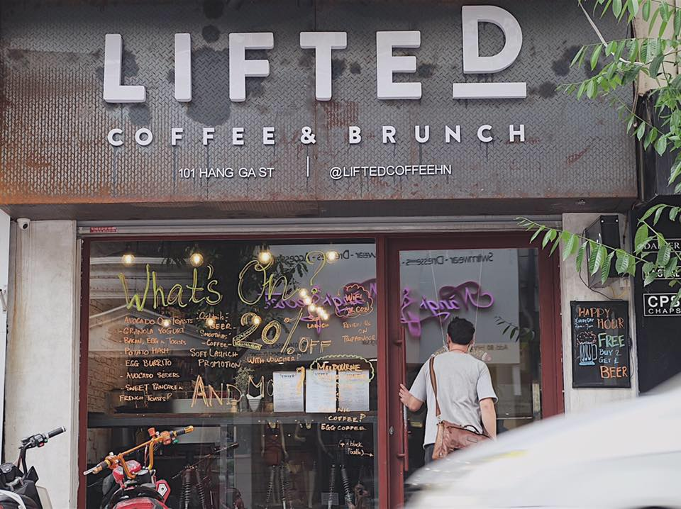 Lifted Coffee and Brunch Hanoi Vietnam | Remote Year