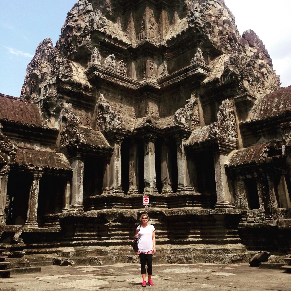 Katherine Conaway on Remote Year Battuta in Angkor