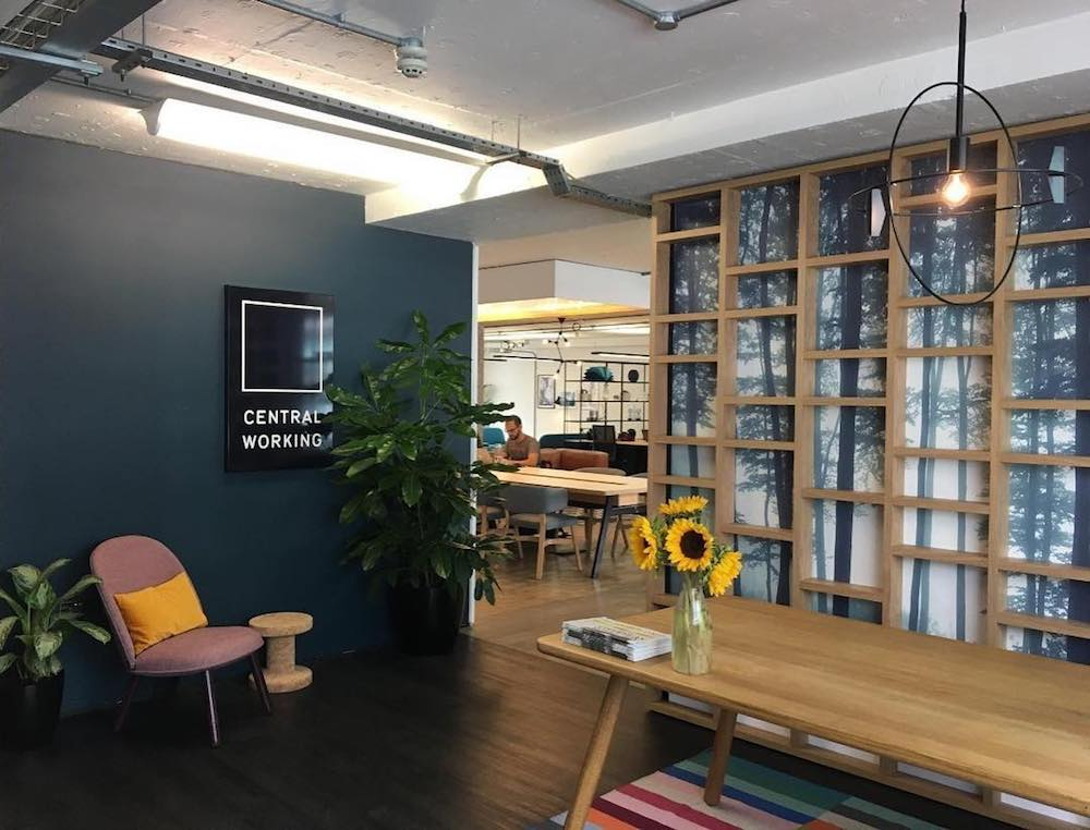 Central Working Coworking in London, England | Money Fomo