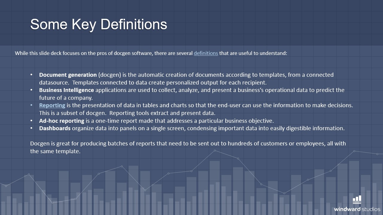 PPTX slide giving some key definitions