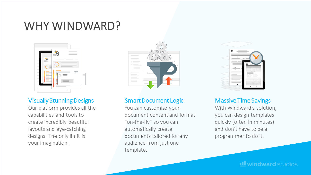 PPTX slide showcasing why to choose Windward