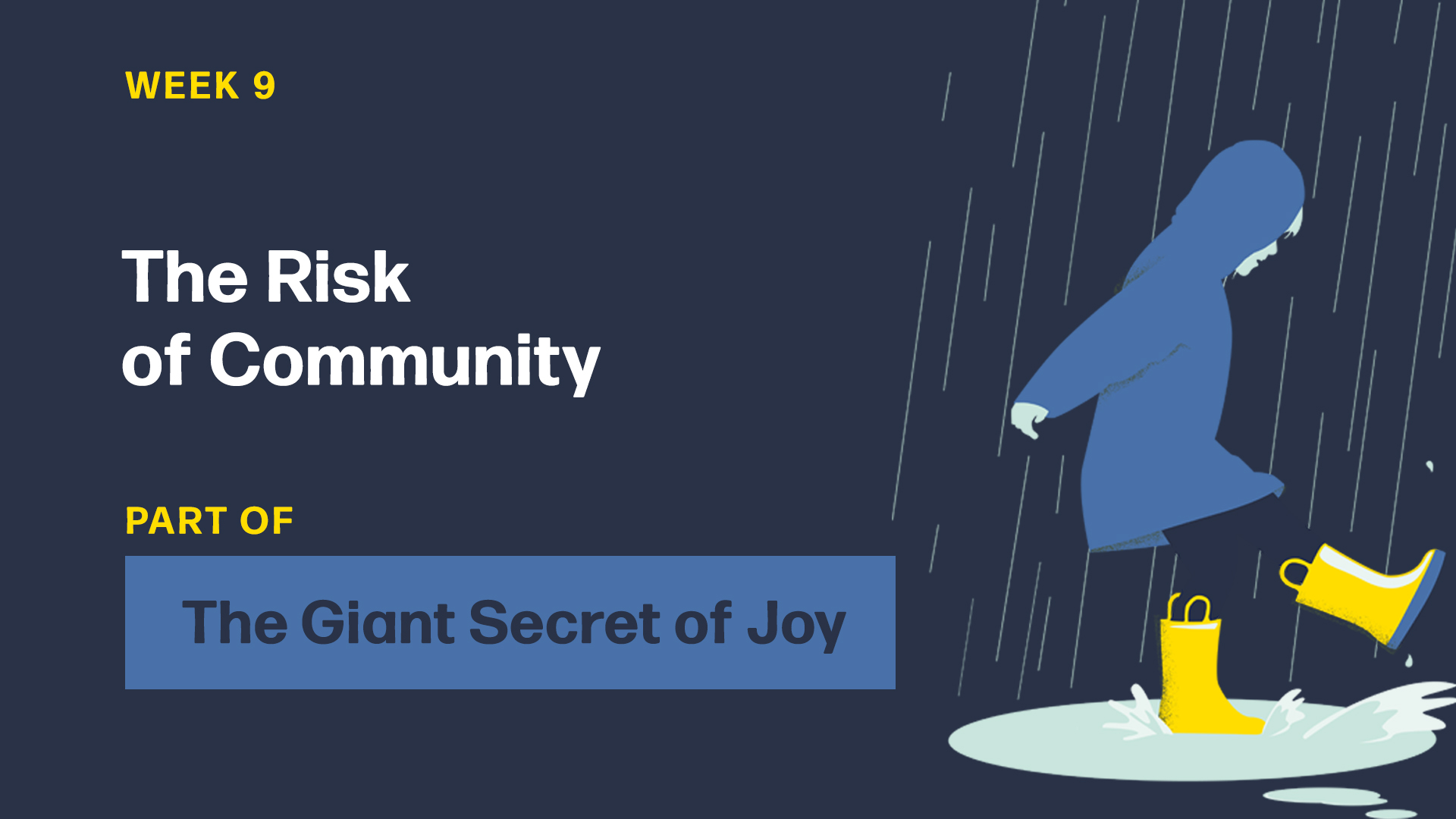 The Risk of Community