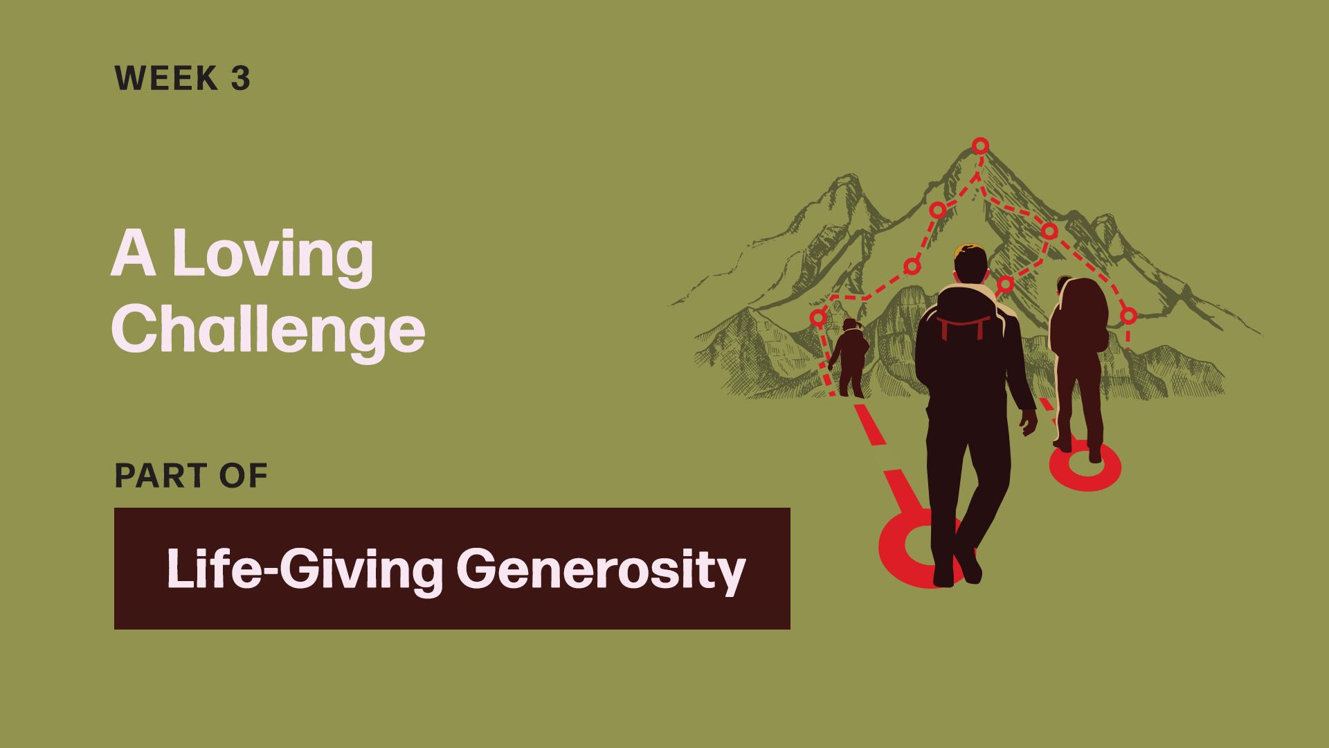 A Loving Challenge (Sermon)