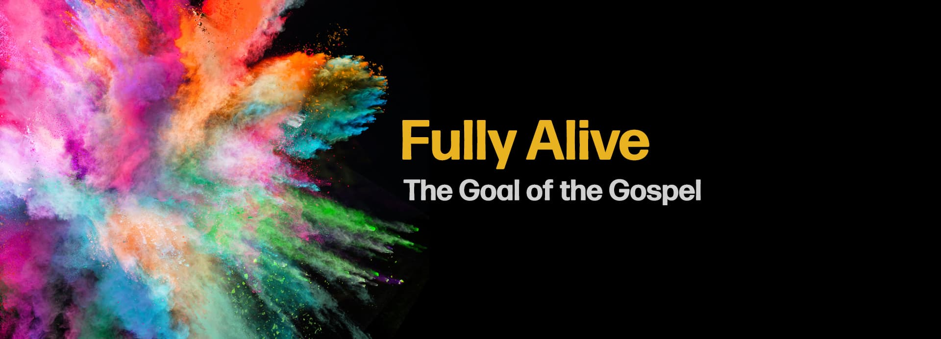 Fully Alive One-Year Anniversary