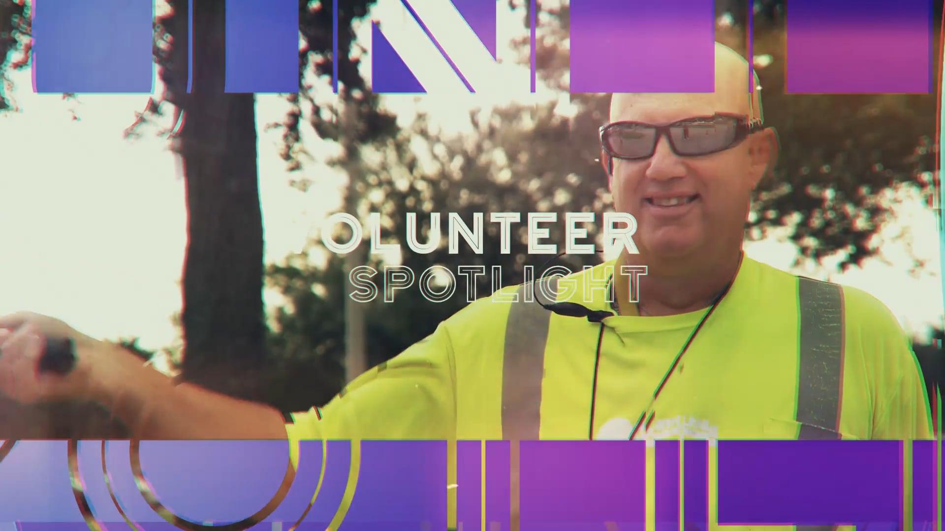 Volunteer Spotlight: J.R. (Parking Team)
