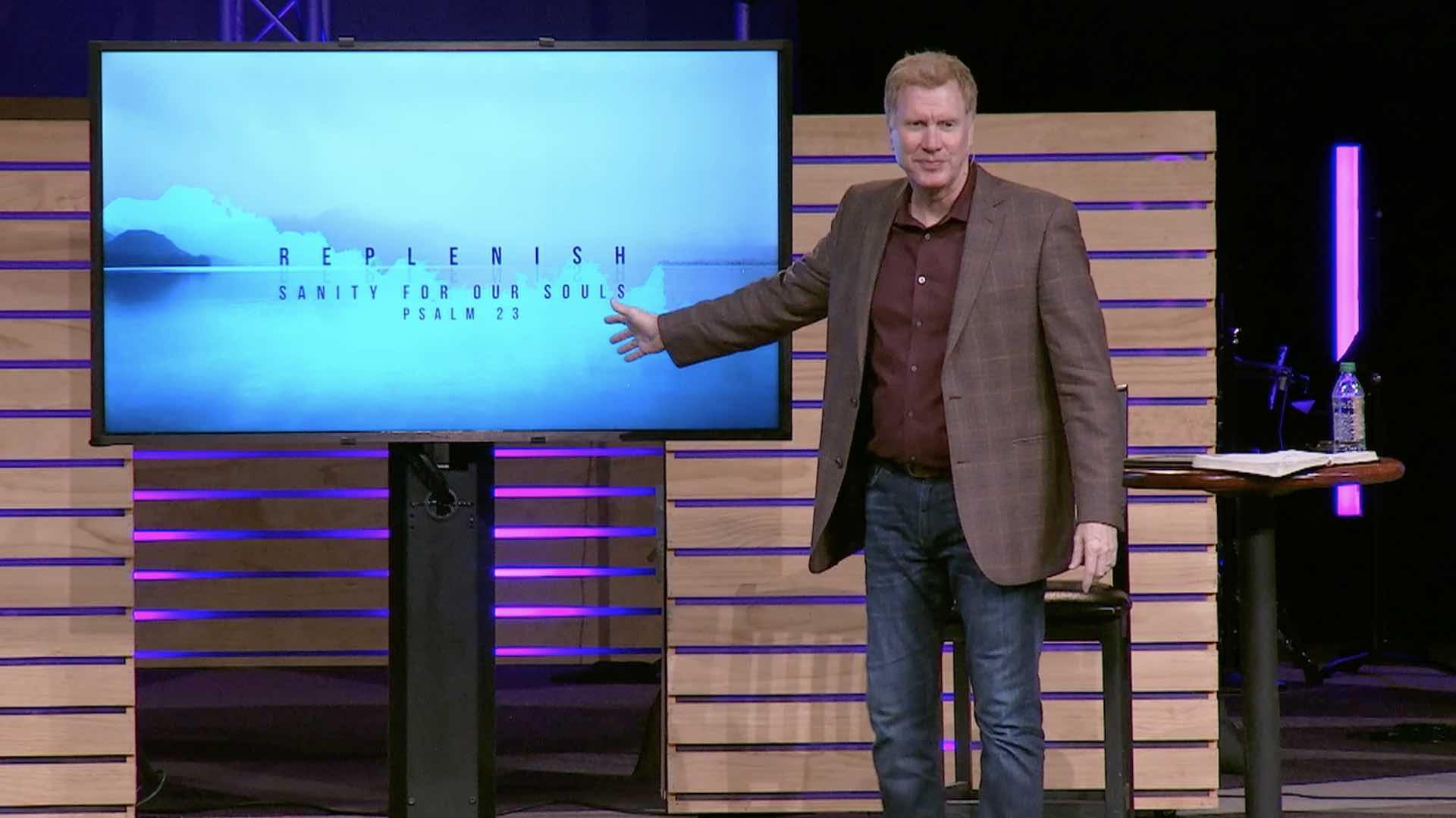 He Shepherds Us (Sermon)