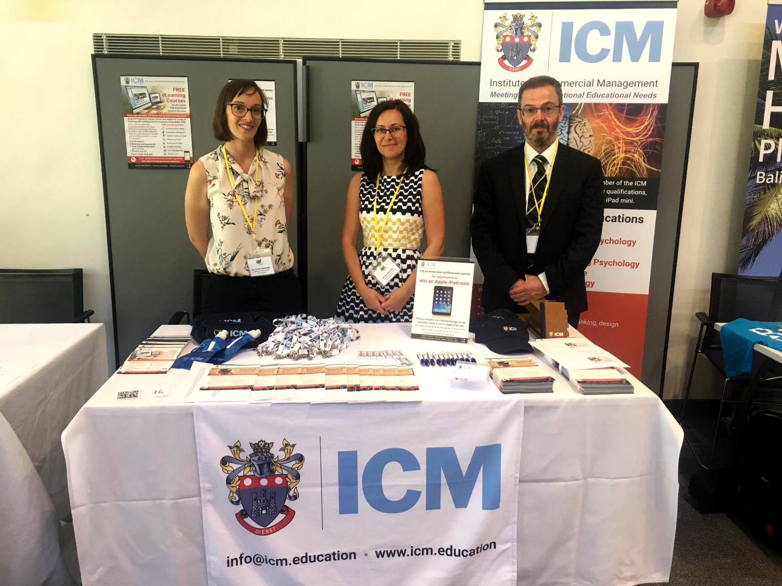 All the latest news about ICM and our courses.