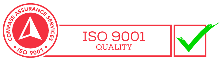 ISO 9001 Quality certified