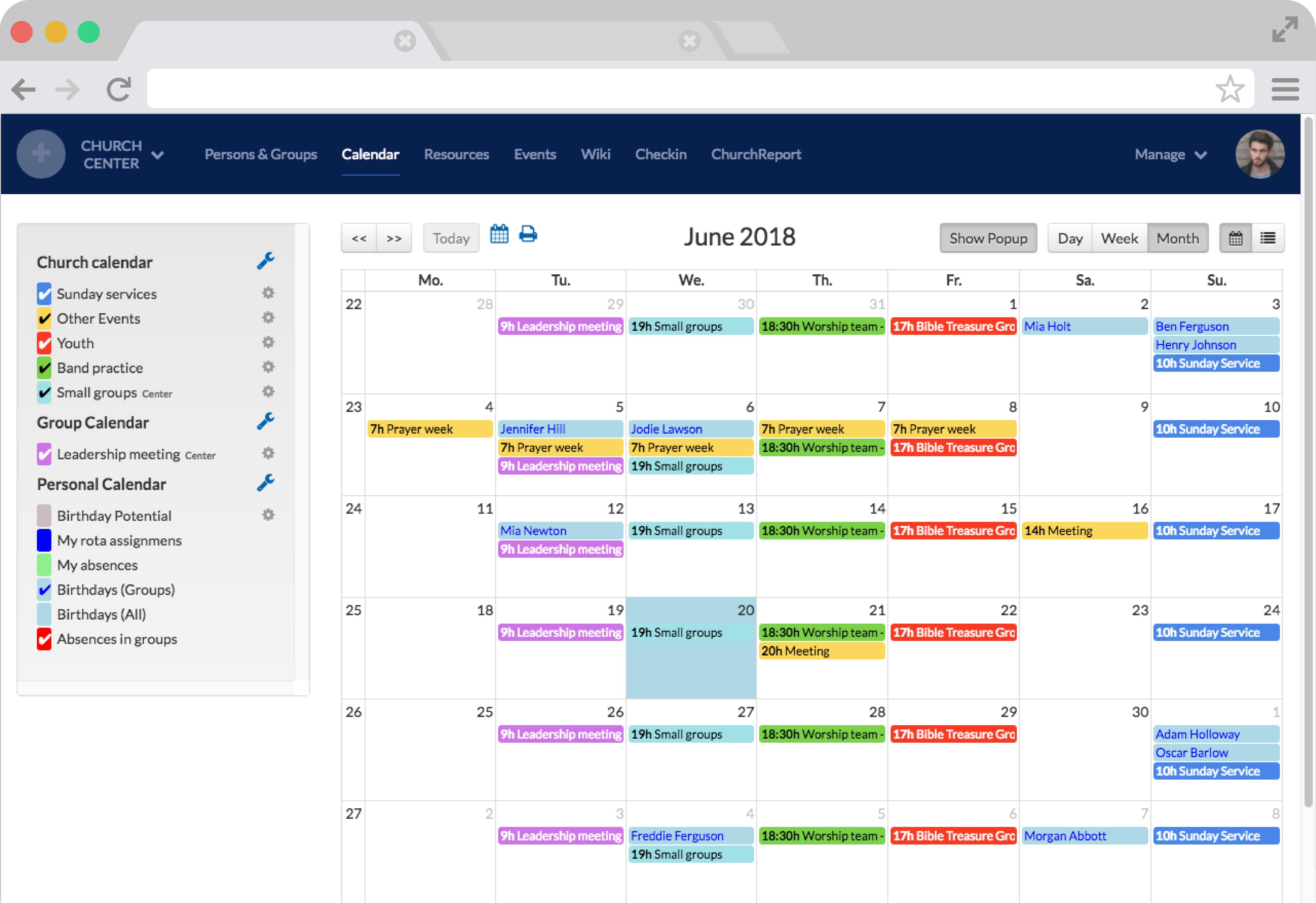One Calendar.Calendar
