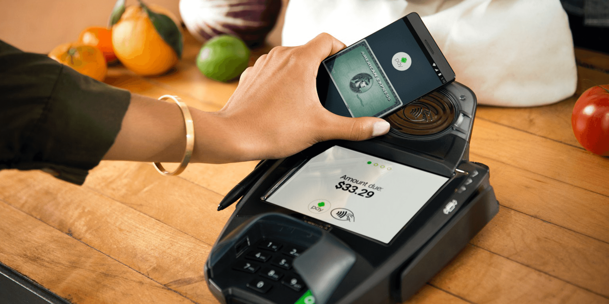 NFC Payment with Android Pay