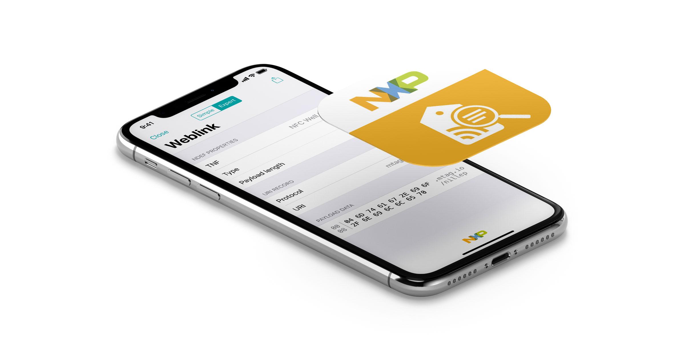 iPhone NXP app screenshot