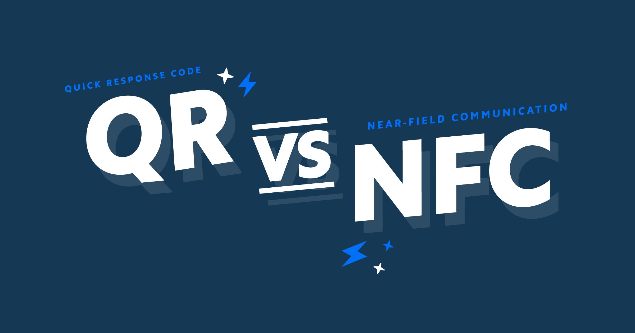 QR vs NFC
